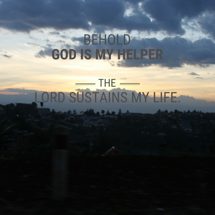 God sustains